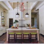 kitchen-cabinets-in-calhoun-ga-cream-kitchen-blush-island-lime-seat cushions