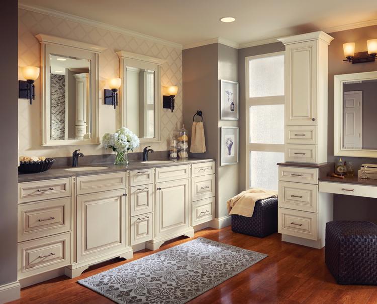 Kitchen Cabinets In Bathroom kraftmaid bath cabinet gallery | kitchen cabinets calhoun, ga